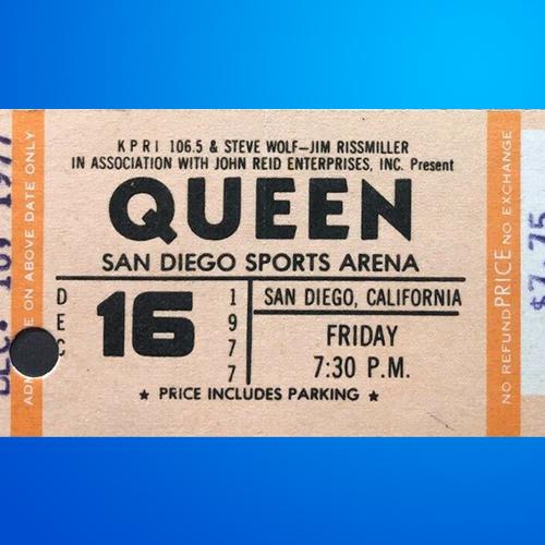 Queen Music Memorabilia Auctions - AuctionMemorabilia.com