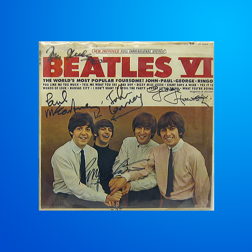 The Beatles Music Memorabilia Auctions - AuctionMemorabilia.com