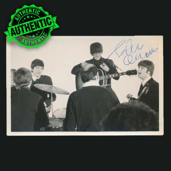 John Lennon signed glossy The Beatles photograph 1964