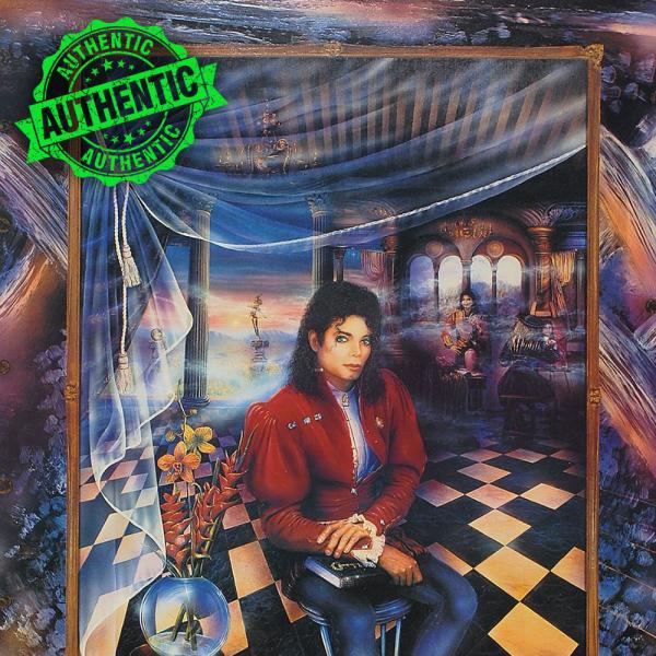 Michael Jackson signed lithograph